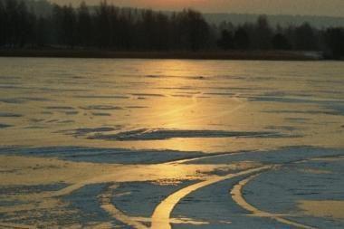 Po Kuršių marių ledu – lavonas