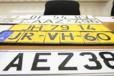 Ką mašinos numeris reiškia jo savininkui?