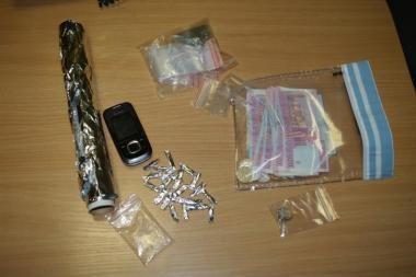Vilniuje sulaikyti 5 su narkotikų platinimu siejami asmenys