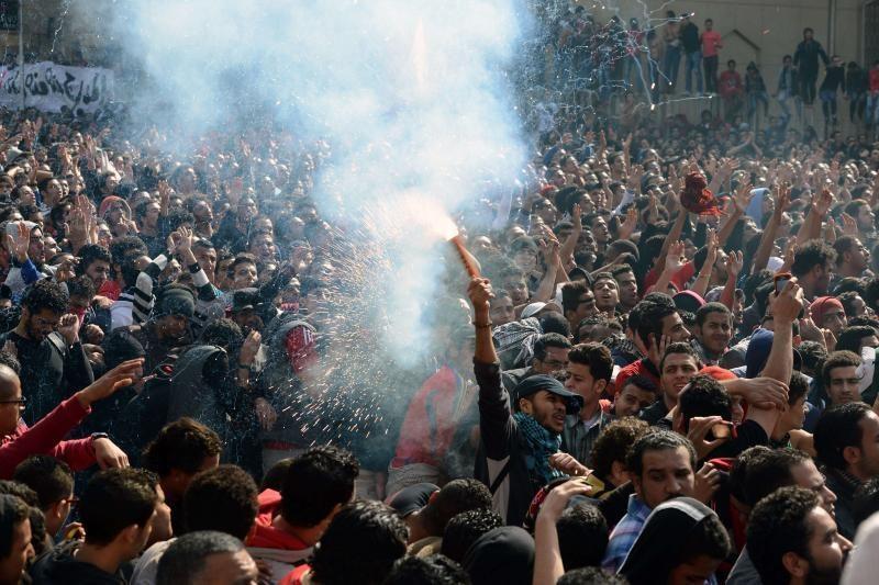 Egipte paskelbus mirties nuosprendį 21 asmeniui, kilo kruvinos riaušės
