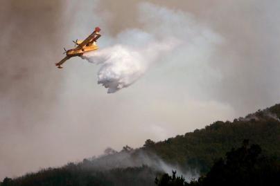 Ispanijoje dėl miško gaisro evakuoti šimtai gyventojų
