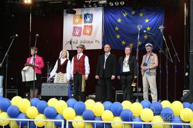 Druskininkuose šurmuliavo Europos dienos šventė