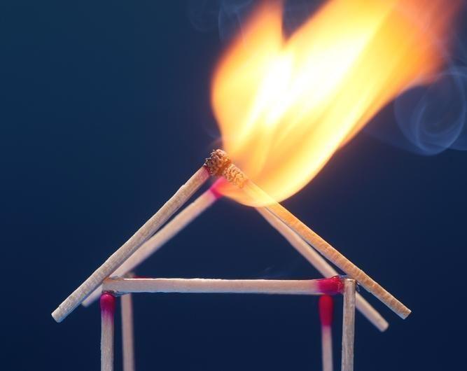 Užsidegė Šilutės gyvenamajame name įrengta pirtis