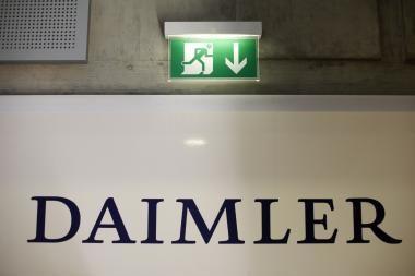"""""""Daimleriui"""" praėjusieji metai buvo nuostolingi"""