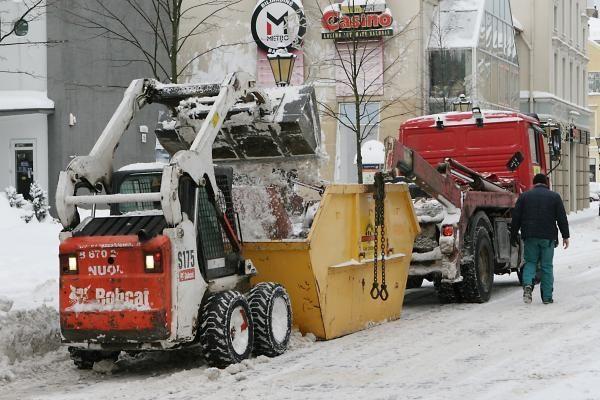 Gatvių valymui sausį Klaipėdoje išleistas milijonas