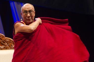 Dalai Lama kalbėjo 30 tūkst. klausytojų Toronte