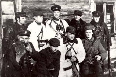 """Sostinės kino teatre """"Pasaka"""" - filmai apie partizanus"""