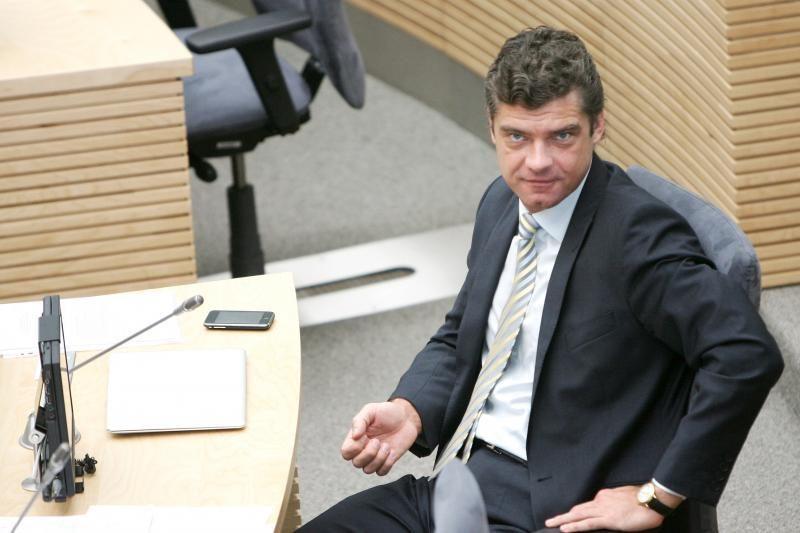 Ž.Šilgalis atleistas iš komisijos pirmininko pareigų