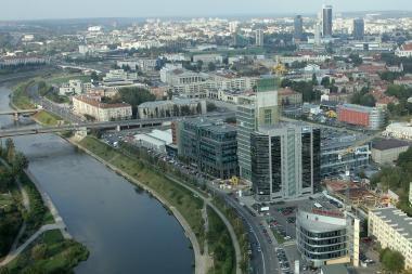 Planuojama apmokestinti stovėjimą Vilniaus centro prieigose