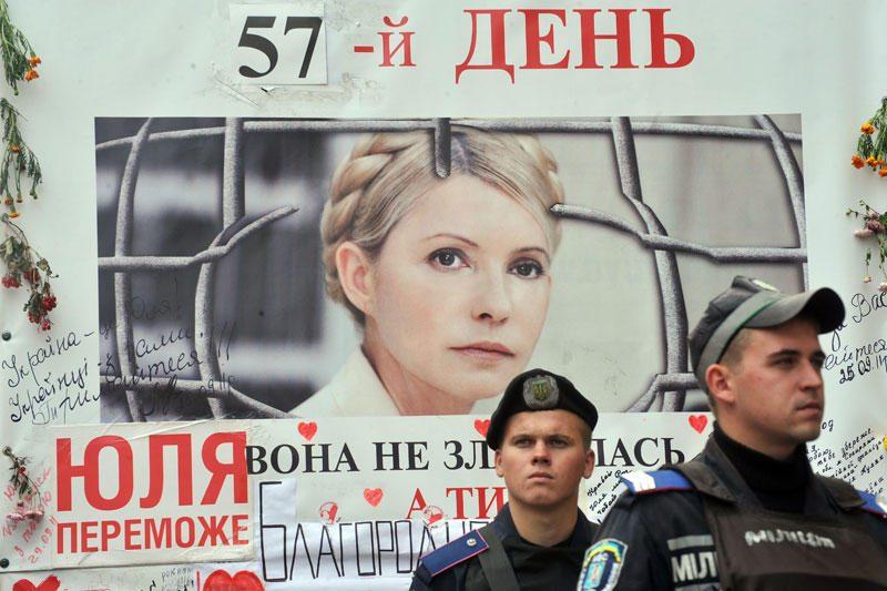 Gydytojai skeptiškai vertina J.Tymošenko gydymo Ukrainoje galimybes