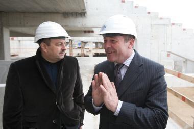 Ruošiamasi pradėti Vilniaus namų Maskvoje statybas