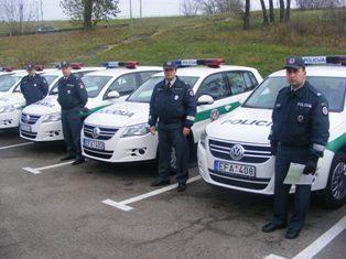 Policijai švenčių metas - aktyvus darbymetis