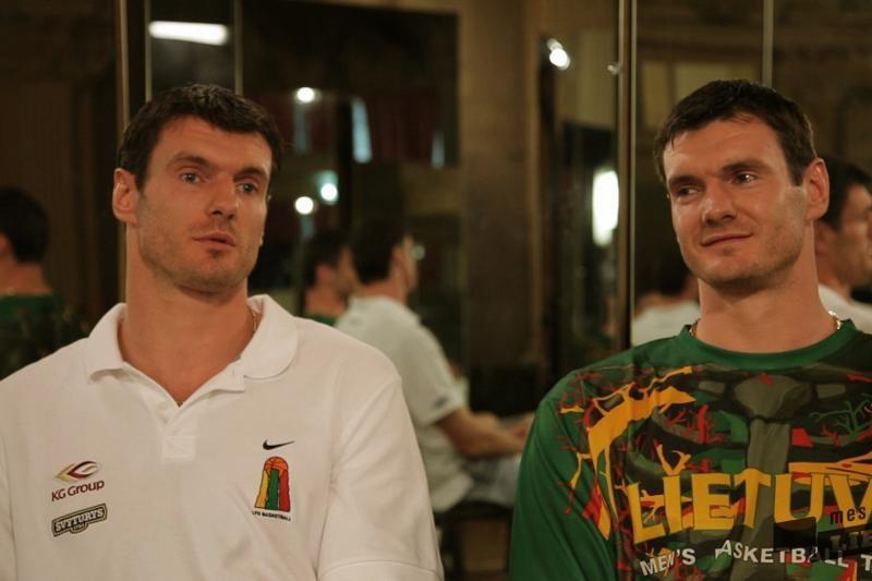 Lavrinovičiai: Lietuvoje – trys milijonai krepšinio specialistų