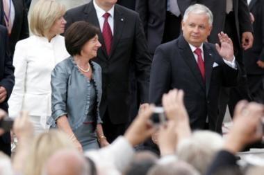 Lenkijos prezidentas atšaukė vizitą į Vilnių