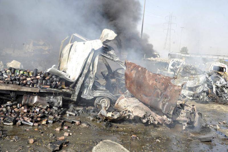 """Damaske įvykdytos dvi """"teroro atakos"""", žuvo dešimtys žmonių"""