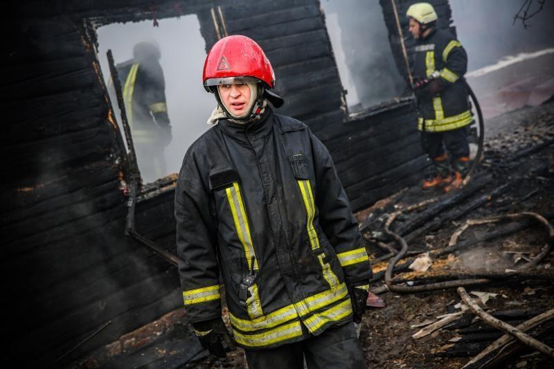 Šilutės rajone gaisras gyvenamajame name nusinešė vyro gyvybę