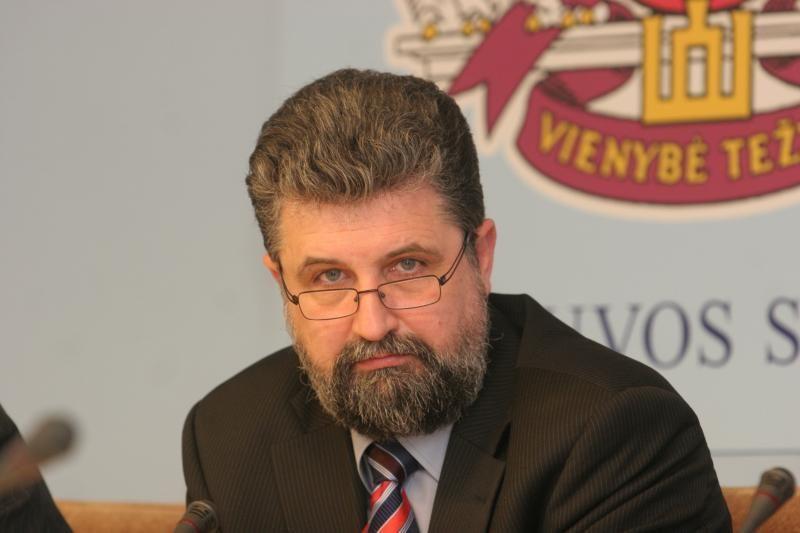 Verslininkas R. Garbaravičius sustabdė narystę TS-LKD