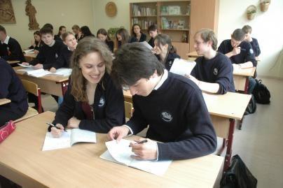 Silpniausi moksleiviai – rajonų mokyklose