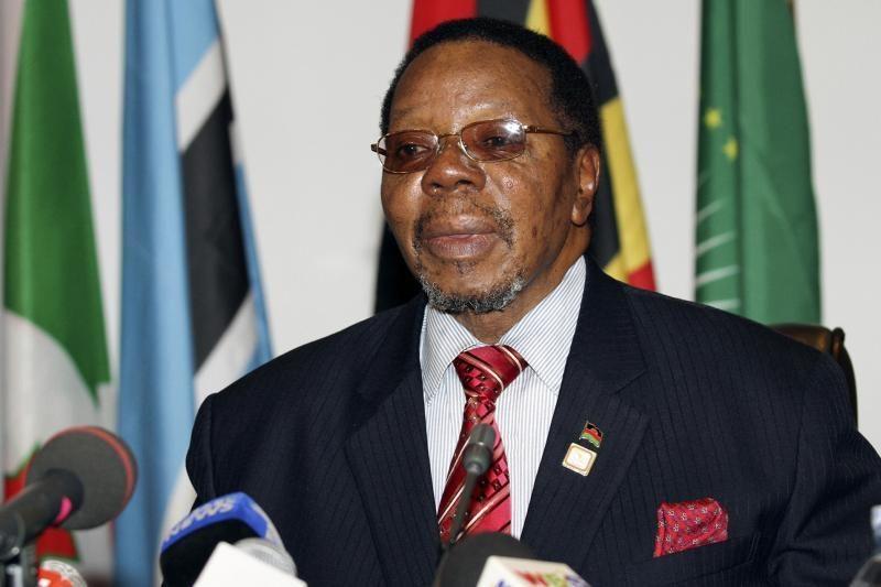 Malavio prezidentas mirė po širdies smūgio