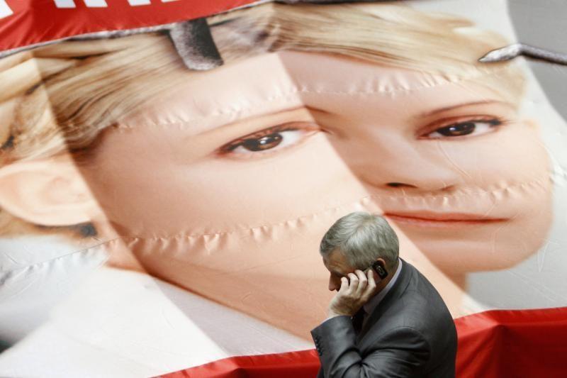 """ES sako esanti """"labai susirūpinusi"""" dėl J.Tymošenko"""