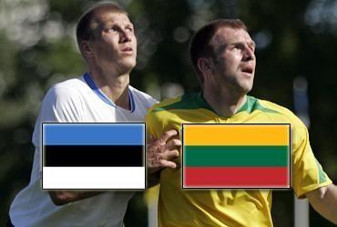 Lietuvos ir Estijos futbolo dvikova baigėsi taikiai: 1-1