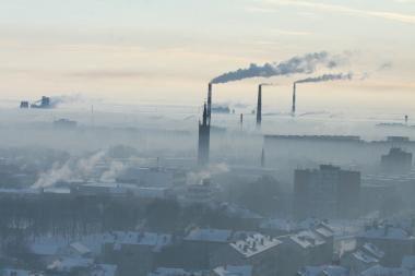 Didžiausia oro tarša – Klaipėdos centre