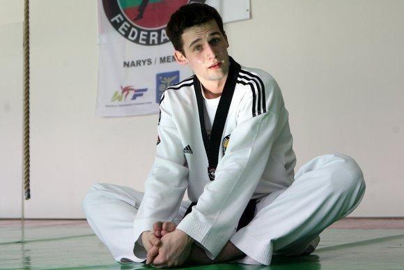 Vilnietis V. Dzikevičius - tarptautinio taekvondo turnyro nugalėtojas