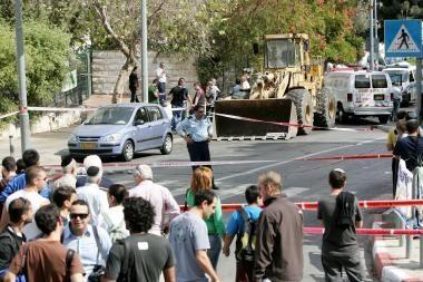Jeruzalėje kilo riaušės, kuriose dalyvavo šimtai palestiniečių