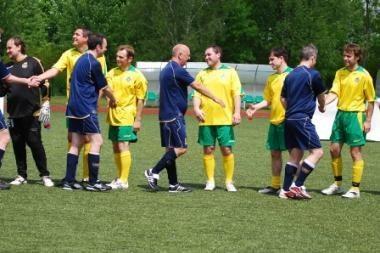 Prieš futbolo rinktinių susitikimą žais Lietuvos ir Škotijos žurnalistai