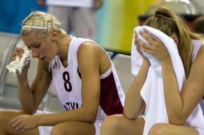 Latvijos krepšininkės pasitraukė iš olimpiados
