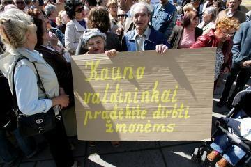 Socialinio būsto gyventojai koneveikė Kauno valdžią