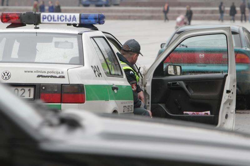 Policija per reidus sulaikė 155 neblaivius vairuotojus