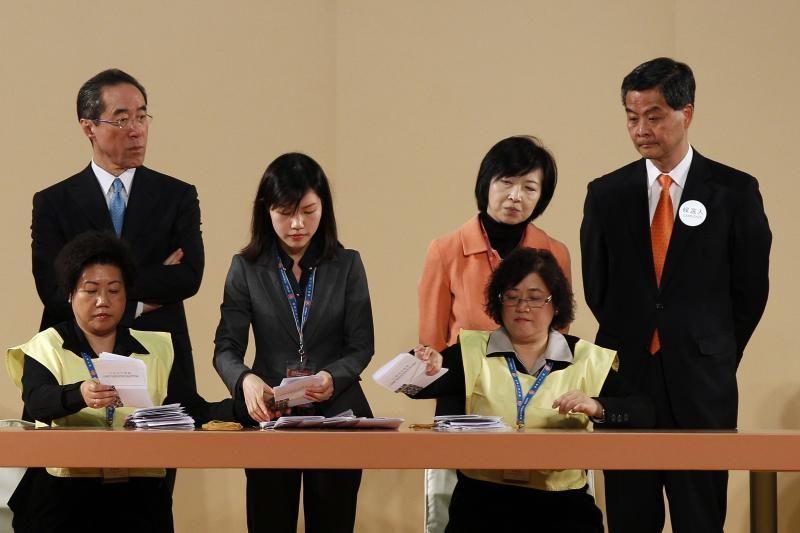 Honkongo vadovu tapo buvęs nekilnojamojo turto konsultantas