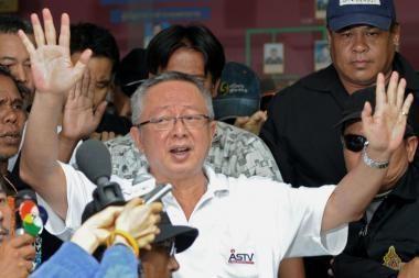 Tailando protestų lyderiai pasidavė