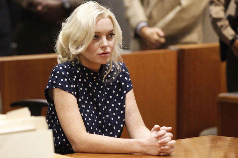 L.Lohan baigė dirbti teismo skirtą visuomenei naudingą darbą