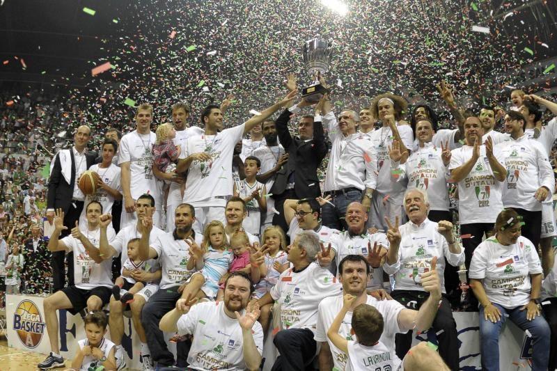 """""""Montepaschi"""" krepšininkai dar kartą tapo Italijos čempionais"""