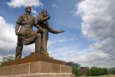 Vilniaus meras: Žaliojo tilto skulptūrų neliesime