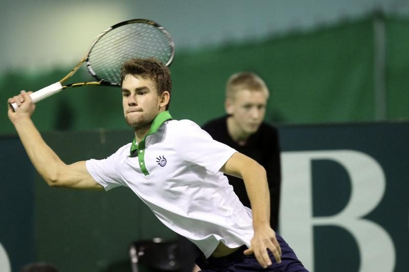 """L.Grigelio nesėkmė ATP """"Challenger Tour"""" serijos teniso turnyre"""