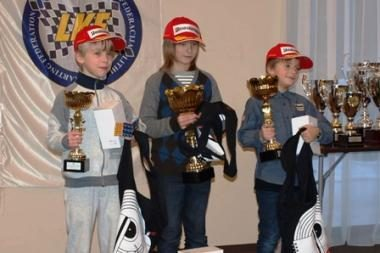 Apdovanoti BMW Formulės mini nugalėtojai
