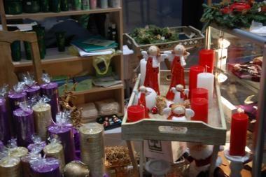 Kalėdinėje mugėje – karštas šokoladas ir meduoliai