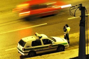 Sostinės policija savaitgalį gaudys neblaivius vairuotojus