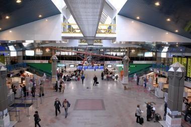 Spalį Vilniaus oro uoste - tik 4 proc. daugiau keleivių