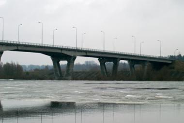 Eismo ribojimai - dar vienam Vilniaus tiltui