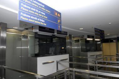 Oro uoste sulaikytas turkmėnas