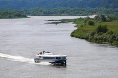 Norima atgaivinti laivų maršrutą Nemunu iš Kauno į Nidą