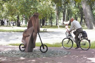 Klaipėdiečiai kviečiami į Skulptūrų parką
