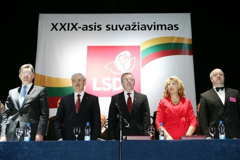 Kandidatai į socialdemokratų vadovus - A. Butkevičius ir Z. Balčytis