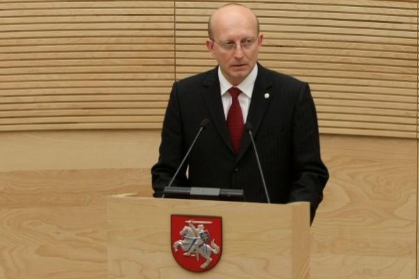 A.Valinskas išrinktas Seimo pirmininku