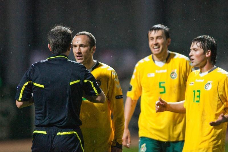 FIFA klasifikacijoje Lietuvos rinktinė užima 110 vietą