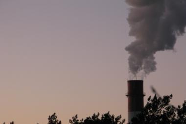 Sušilus orams, Lietuvos miestuose didėja oro tarša